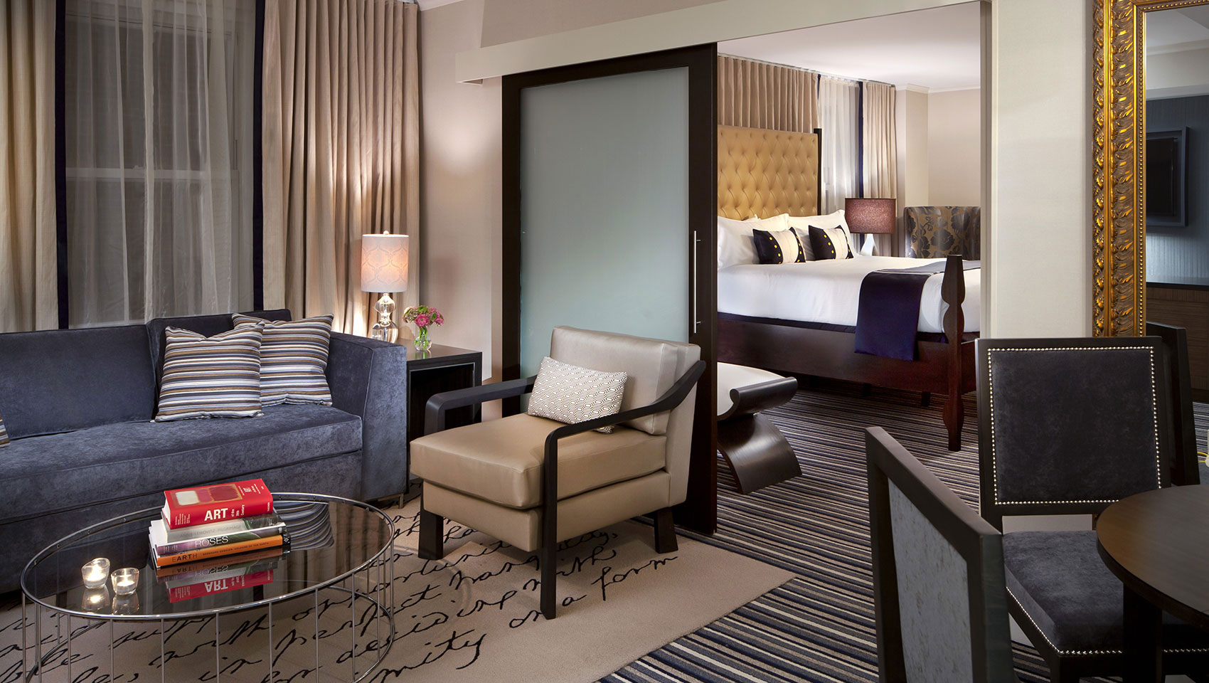 presidential suite at Kimpton George Hotel