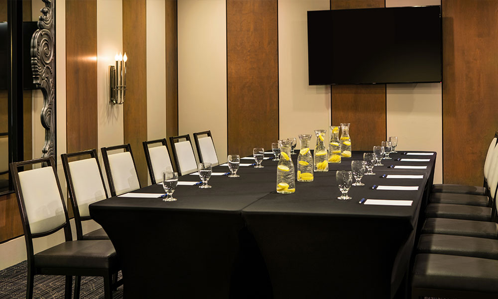 Leaders Meeting Room - Conference Setup